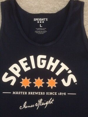 Kiwi / New Zealand Beer - SPEIGHTS Vest / T Shirt : Size L Large - NEW