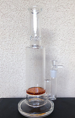 Hookah Water Pipe Glass Bong 13'' Heavy Quality 4 Colors Beaker Free Shipping