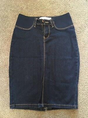 Ripe Maternity Denim Skirt Isla Sz XS BNWT
