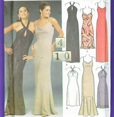 Simplicity 5093  Dress UnCut Sewing Pattern   Size 4 6 8 10 uncut