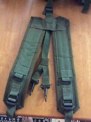 Webbing suspenders jungle green, auscam