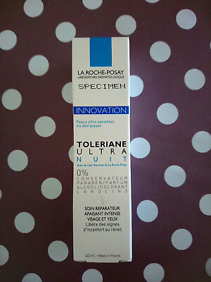 soin Tolériane Ultra nuit La roche Posay