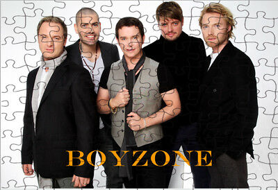 Boyzone  JIGSAW PUZZLE A4 120 PIECE Great Gift Idea  Free Postage