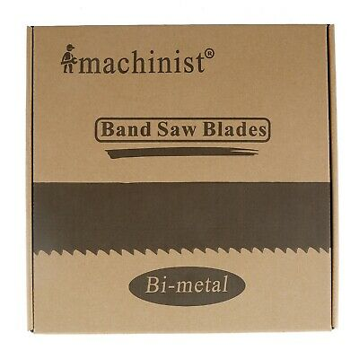 "98/""x3//4/"" x0.35/"" 10//14TPI M42 Bi-metal Band saw Band Blades for Cutting Wood"