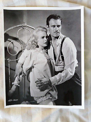 Janet Leigh - Charlton Heston TOUCH OF EVIL Old Movie Photograph
