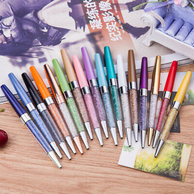 7632 Ballpoint Crystal Ball-Point Pen Fashion Rhinestone Crystal Supplies