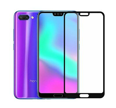 5D 9H Premium Full Cover Tempered Glass Screen Protector for Huawei Honor 10