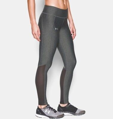 Under Armour Women's UA Fly-By Leggings Compression New! 1297935 M