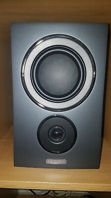 Mission LX 2 Black Pair Of Bookshelf Speakers