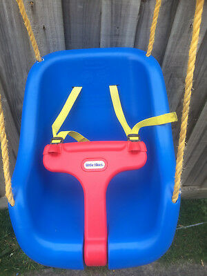 Little Tikes Baby Toddler Childrens Blue Swing