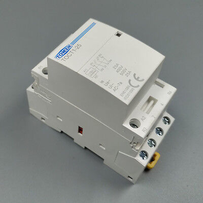 TOCT1 4P 25A 110V coil 50/60HZ Din rail Household ac contactor 2NO 2NC