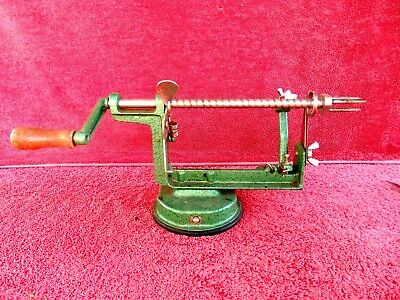 Original  Cast Iron  Base  Apple  Peeler With  Rubber Suction Pad  Under Base