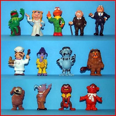 Muppet Show 13 Vintage Figures Complete Set Schleich 70's Zoot Sweetums Scooter