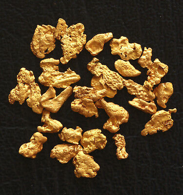 High Purity Natural Western Australia GOLD NUGGETS 4.09 grams
