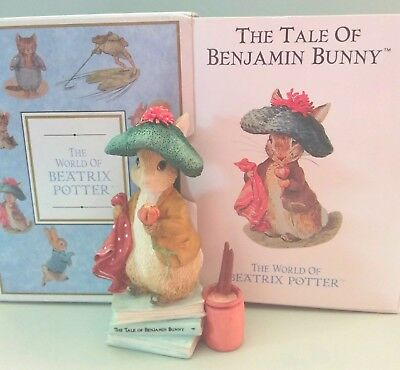 The World of Beatrix Potter Benjamin Bunny Boxed Figurine