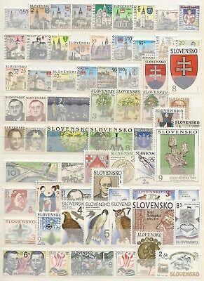 Slovakia Republic 1993-2006 Complete Mnh Collection Since Inception (322 + 25 M/