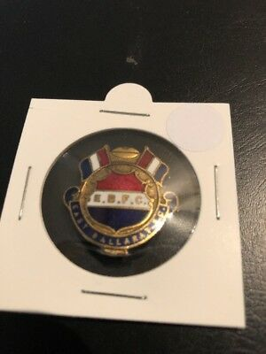 East Ballarat Football Club Badge Pin
