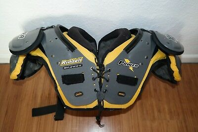 RIDDELL POWER PM19incl. DOUGLAS BACKPLATE - AMERICAN FOOTBALL SHOULDERPAD