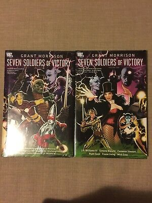 Seven Soldiers Of Victory Volume 1 & 2 Hardcover Morrison DC