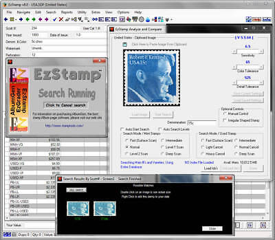 Stamp Recognition & Inventory Software,  USA 2018 SCOTT#'s, Catalog Your Stamps
