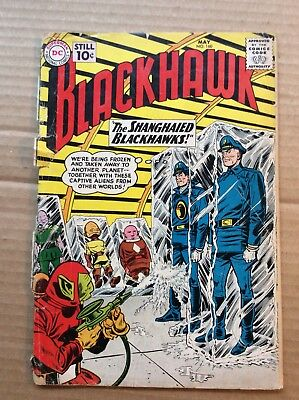 BLACKHAWK #160 (1961) Low Grade DC Silver Age by Dick Dillin; Poor