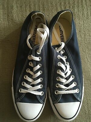 Womens/Mens/unisex Navy Low Converse uk Size 8.5