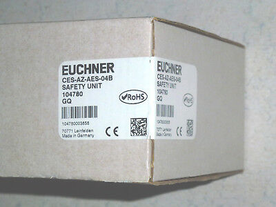 Euchner Safety Unit Ces-Az-Aes-04B 104780 Neu Siegel