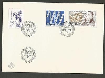 SWEDEN 1975 The Metric Convention, Swedish Veterinary Medicine- FIRST DAY COVER.
