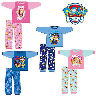Kids Nickelodeon Baby Boys Girls Paw Patrol Pyjama Set PJs Pyjamas 6 to 24Months