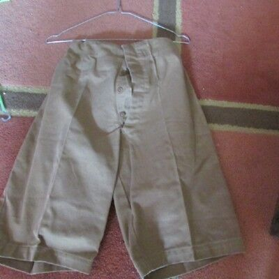 WW1 British Soldier's Shorts    Gallipoli / Middle East