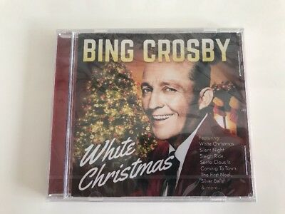 BING CROSBY White Christmas ~ Classic Festive Songs ~ Cd Album NEW/SEALED