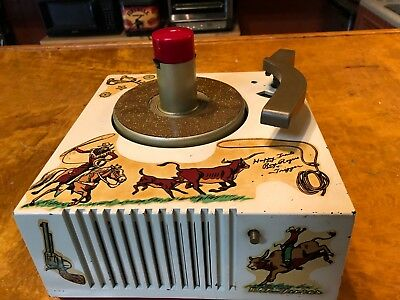 1949 RCA Victor Roy Rogers 45 RPM Record Player Model 9-EY-36 Totally Restored