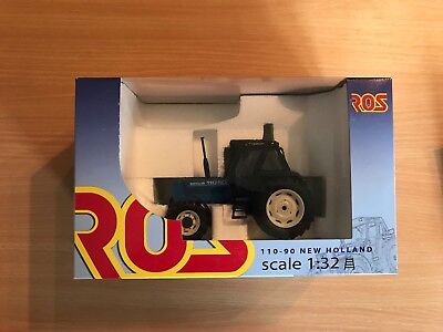 Ros 1:32 Scale New Holland 110-90 Blue