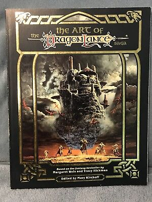THE ART OF THE DRAGONLANCE SAGA VF! TSR Dungeons Dragons COLOR PLATES AD&D D&D