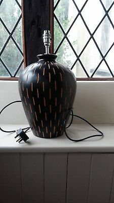 Laura Ashley Wooden Table Lamp Base, very good condition (2 of 2)