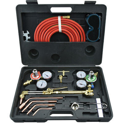 Gas Welding & Cutting Kit Victor Type Acetylene Oxygen Torch Set Regulator NEW