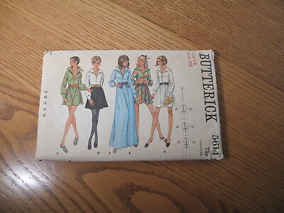Vintage Sewing Pattern - Butterick - 5614 - Misses' One-Piece Dress - UNCUT