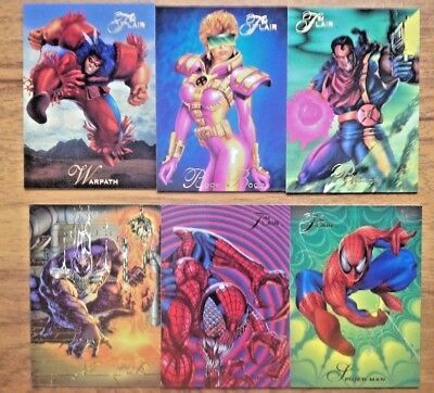 Marvel Flair '94 Trading Cards Bundle - Specials . Free P&P