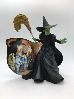 Bradford Exchange Beyond Rainbow Wizard of Oz Green With Envy 1st Wicked Witch