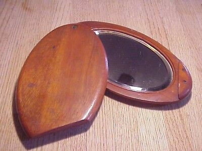 Civil War Period Soldier's Folding Mirror, As Pictured In Reference Guide