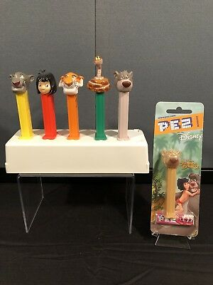 PEZ Disney Jungle Book Complete Set Of Pez Dispensers Lot Of 6 Rare
