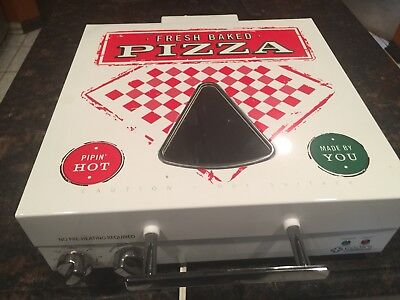 Unique Countertop electric pizza oven Dual Heating Top And Bottom   (Never Used)