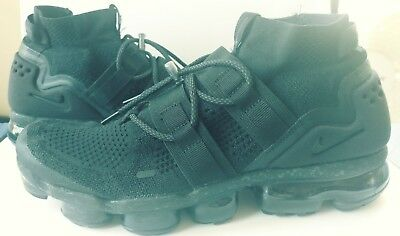 buy online 52d1a 4472b NIKE AIR VAPORMAX Flyknit Utility All Black Size 11 (or 10.5)