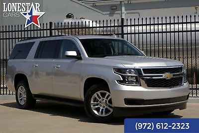 Chevrolet Suburban Clean Carfax Leather 1500 LT 2015 Silver 1500 LT!