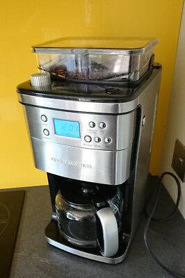 Filter Coffee Machine Integrated Bean Grinder By Andrew