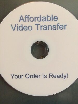 DS Affordable Video Transfer, Your Order Is Ready!