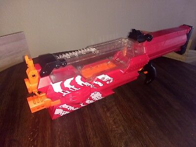Nerf Rival Nemesis MXVII-10K, Red with Accessories