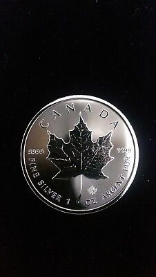 1oz Silver Maple Leaf Coin 2018