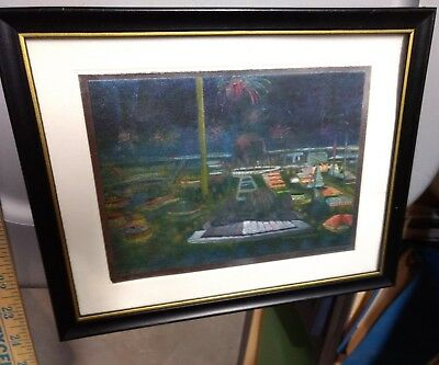 1964/65 NYWF Holographic Panorama View.  Framed.