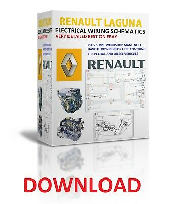 1994 to 2008 renault laguna repair manuals electrical wiring diagrams  download